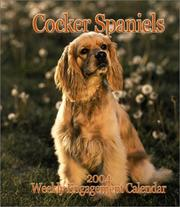 Cover of: Cocker Spaniels 2004 Calendar