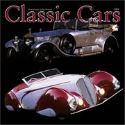 Cover of: Classic Cars 2004 Calendar