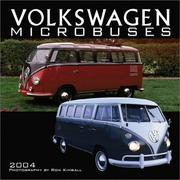 Cover of: Volkswagen Microbuses 2004 Calendar