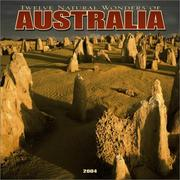 Cover of: Twelve Natural Wonders of Australia 2004 Calendar |