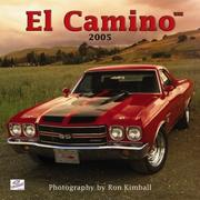 Cover of: El Camino 2005 Calendar | BrownTrout Publishers