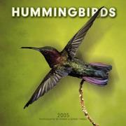 Cover of: Hummingbirds 2005 Wall Calendar | BrownTrout Publishers