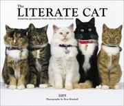 Cover of: Literate Cat 2005 Deluxe Wall Calendar