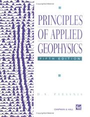 Cover of: Principles of Applied Geophysics