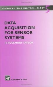 Cover of: Data acquisition for sensor systems