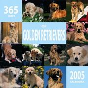 Cover of: 365 Days of Golden Retrievers 2005 Wall Calendar | BrownTrout Publishers