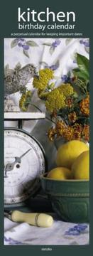 Cover of: Kitchen Birthday 2005 Slimline Calendar | BrownTrout Publishers