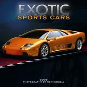 Cover of: Exotic Sports Cars 2006 Calendar