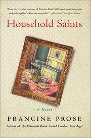 Household saints by Francine Prose