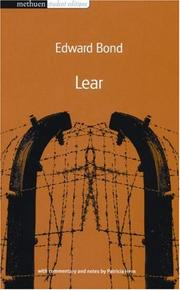 Cover of: Lear