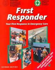 Cover of: First Responder | AAOS