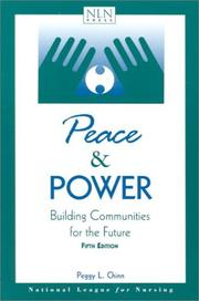 Peace and Power by Peggy L. Chinn