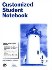 Cover of: Customized Student Notebook to Accompany Biology: Understanding Life, 3E