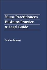 Nurse Practitioners Business Practice & Legal Guide