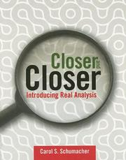 Cover of: Closer and Closer