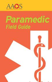 Cover of: Paramedic Field Guide | AAOS