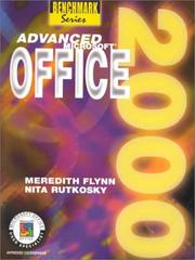 Cover of: Advanced Microsoft Office 2000: Expert Certification (Benchmark Series)