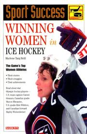 Cover of: Winning Women in Ice Hockey (Sport Success)