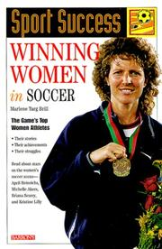 Cover of: Winning Women in Soccer (Sport Success)