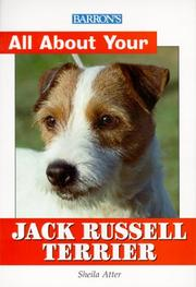 Cover of: Barron's All About Your Jack Russell Terrier