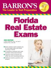 Cover of: Barron's Florida Real Estate exams