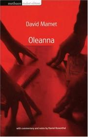 "Cover of: ""Oleanna"" (Modern Plays)"