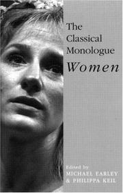 Cover of: The Classical Monologue (W)