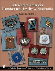 Cover of: 200 Years of American Manufactured Jewelry & Accessories
