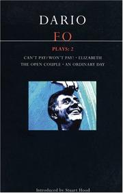 Cover of: Dario Fo Plays