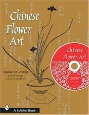 Cover of: Chinese Flower Art: Line Drawings with CD