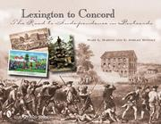Cover of: Lexington to Concord | E. Ashley Rooney