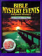 Cover of: Intrigue on Emerald Pier (Bible Mystery Events for Youth Ministry) | Robert Klimek