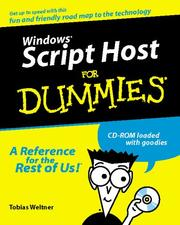 Cover of: Windows Script Host For Dummies (For Dummies Series)