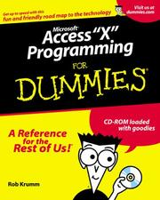 Cover of: Access 2002 Programming for Dummies