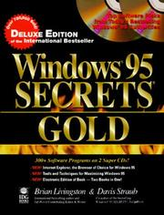 Cover of: Windows 95 Secrets Gold (3rd Edition) | Livingston