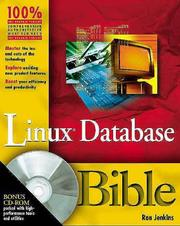 Cover of: Linux Database Bible (Bible (Wiley)) | Michele Petrovsky
