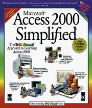 Cover of: Microsoft® Access 2000 Simplified® | Ruth Maran