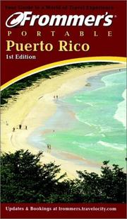 Cover of: Frommer's Portable Puerto Rico