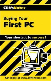 Cover of: Buying Your First PC