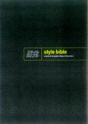 Cover of: The style bible