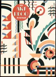 Cover of: Art Deco Journal Insert Refill |