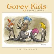 Cover of: Gorey Kids 2007 Mini Wall Calendar