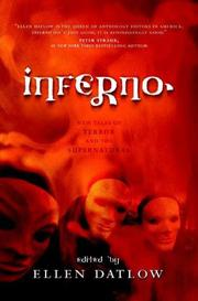 Cover of: Inferno: New Tales of Terror and the Supernatural