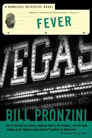 Cover of: Fever: [a nameless detective novel]