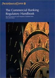 Cover of: The Commercial Banking Regulatory Handbook | Pricewaterhousecoopers