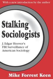 Cover of: Stalking Sociologists