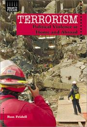 Cover of: Terrorism: Political Violence at Home and Abroad (Issues in Focus)