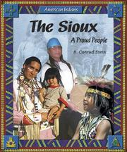 Cover of: The Sioux: A Proud People (American Indians)