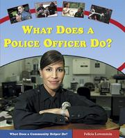 Cover of: What does a police officer do?