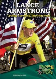 Cover of: Lance Armstrong | Christine M. Hill